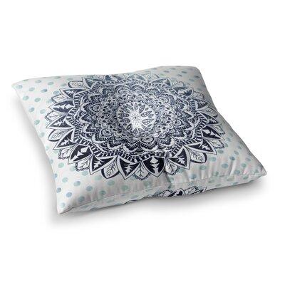 Nika Martinez Dots Mandala Square Floor Pillow Size: 26 x 26