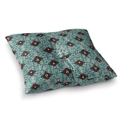Nika Martinez Bohemian Paisley Pattern Square Floor Pillow Size: 23 x 23