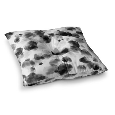 Monica Martinez Inky Dots Illustration Square Throw Pillow Size: 26 x 26