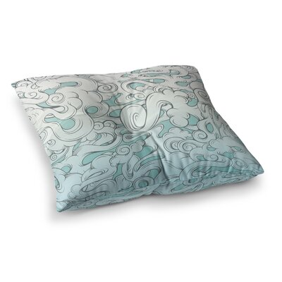 Mat Miller Entangled Souls Square Floor Pillow Size: 26 x 26