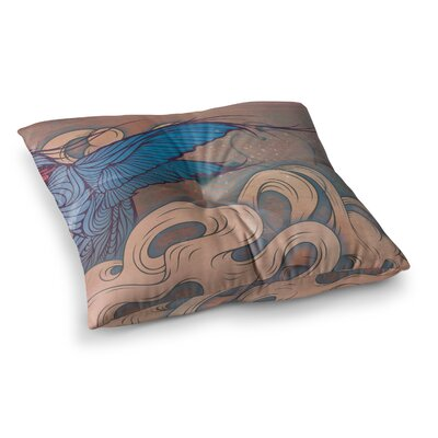 Mat Miller the Aerialist Square Floor Pillow Size: 23 x 23