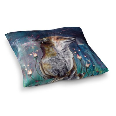 Mat Miller There Is a Light Square Floor Pillow Size: 23 x 23