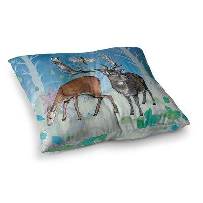 Mat Miller Glade Square Floor Pillow Size: 23 x 23
