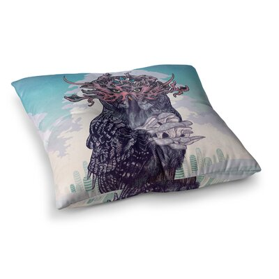 Mat Miller Journeying Spirit Fantasy Square Floor Pillow Size: 23 x 23