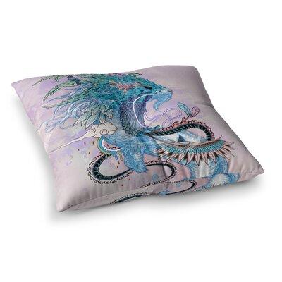Mat Miller Journeying Spirit Fantasy Square Floor Pillow Size: 23 x 23