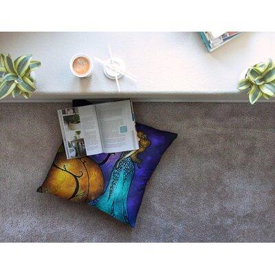 Mandie Manzano Cinderella Square Floor Pillow Size: 26 x 26