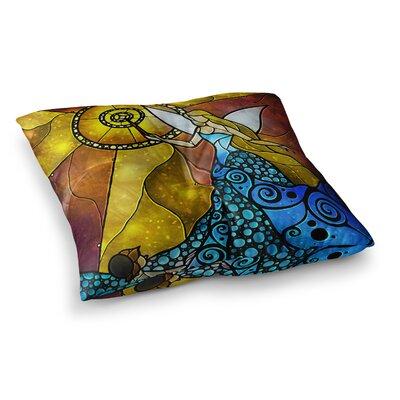 Mandie Manzano Fairy Square Floor Pillow Size: 23 x 23