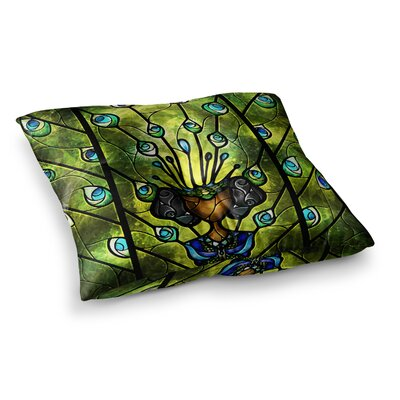 Mandie Manzano Angel Eyes Square Floor Pillow Size: 23 x 23