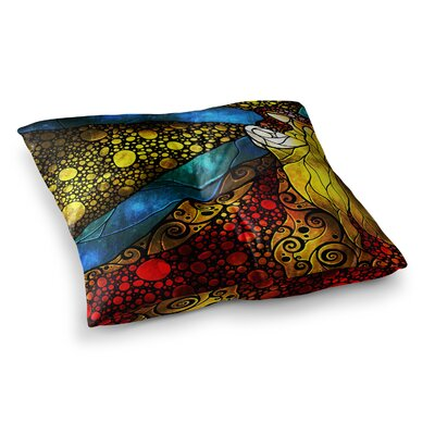 Mandie Manzano What Child Is This Square Floor Pillow Size: 26 x 26