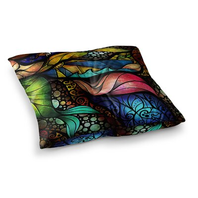 Mandie Manzano Sleep and Awake Square Floor Pillow Size: 26 x 26