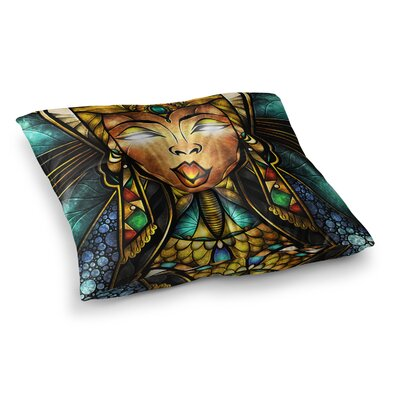 Mandie Manzano Nefertaril Square Floor Pillow Size: 23 x 23