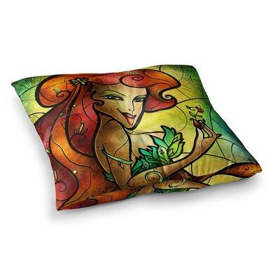Mandie Manzano Poison Villain Square Floor Pillow Size: 26 x 26
