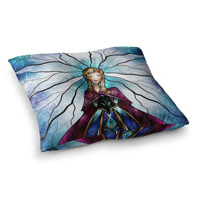 Mandie Manzano The Little Sister Frozen Square Floor Pillow Size: 26 x 26