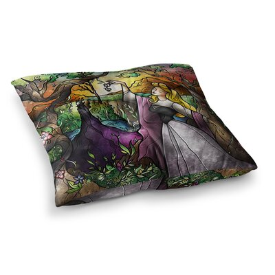 Mandie Manzano I Know You Fairytale Forest Square Floor Pillow Size: 23 x 23