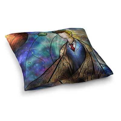 Mandie Manzano The 10th Space Square Floor Pillow Size: 26 x 26
