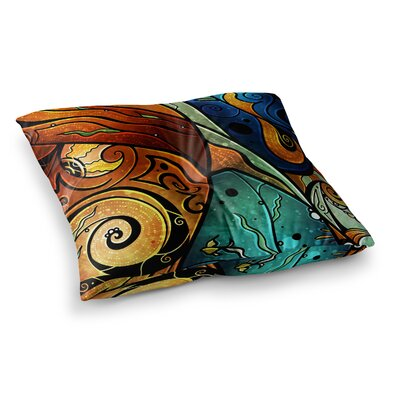 Mandie Manzano Sea Dance Square Floor Pillow Size: 23 x 23
