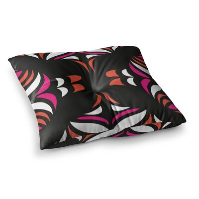 Miranda Mol Hawaiian Retro Square Floor Pillow Size: 23 x 23
