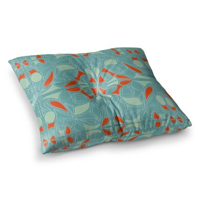 Miranda Mol Seafoam Square Floor Pillow Size: 26 x 26