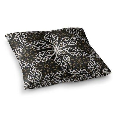 Miranda Mol Ethnical Snowflakes Square Floor Pillow Size: 26 x 26