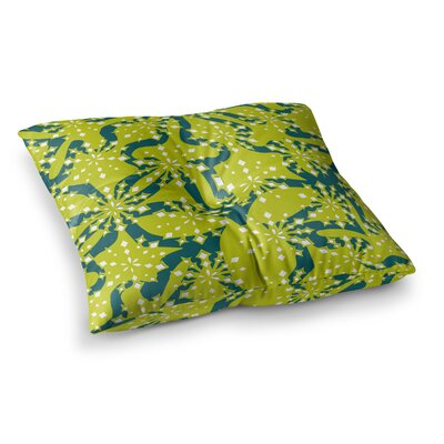Miranda Mol Festive Splash Square Floor Pillow Size: 26 x 26