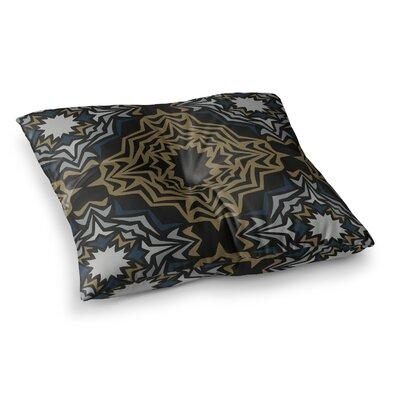 Miranda Mol Fractals Square Floor Pillow Size: 23 x 23