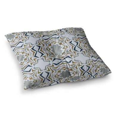 Miranda Mol Ice Stars Square Floor Pillow Size: 23 x 23