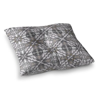 Miranda Mol Let It Snow Square Floor Pillow Size: 26 x 26