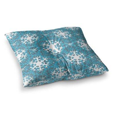 Miranda Mol Precious Flakes Square Floor Pillow Size: 26 x 26