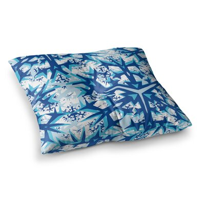 Miranda Mol Winter Mountains Square Floor Pillow Size: 23 x 23
