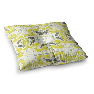 Miranda Mol Azulejos Square Floor Pillow Size: 23 x 23