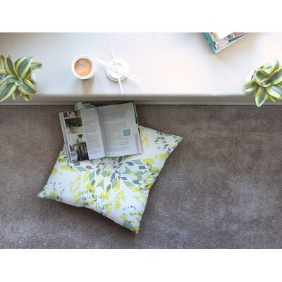 Miranda Mol Springtide Square Floor Pillow Size: 23 x 23