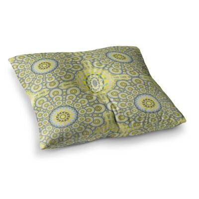 Miranda Mol Multifaceted Flowers Square Floor Pillow Size: 23 x 23