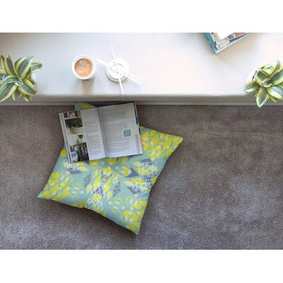 Miranda Mol Joyful Square Floor Pillow Size: 26 x 26