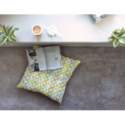 Miranda Mol Effloresco Square Floor Pillow Size: 23 x 23