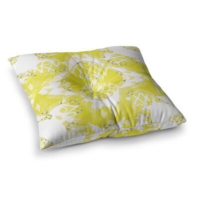 Miranda Mol Citrus Spritz Square Floor Pillow Size: 26 x 26