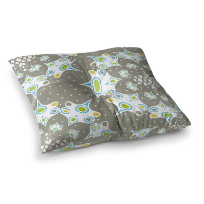 Miranda Mol Ornamental Splash Square Floor Pillow Size: 26 x 26
