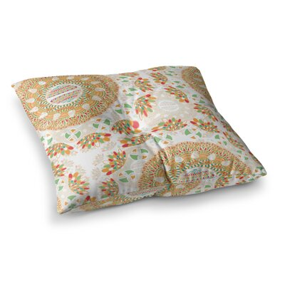 Miranda Mol Bohemian Bright Geometric Square Floor Pillow Size: 23 x 23