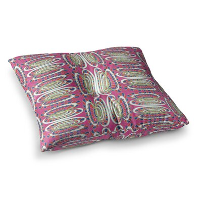 Miranda Mol Bohemian Wild Abstract Square Floor Pillow Size: 26 x 26