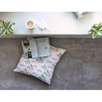 Miranda Mol Blown Away Square Floor Pillow Size: 26 x 26