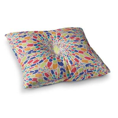 Miranda Mol Flourishing Geometric Square Floor Pillow Size: 26 x 26