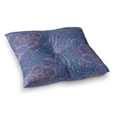 Miranda Mol Kaleidoscopic Geometric Square Floor Pillow Size: 26 x 26