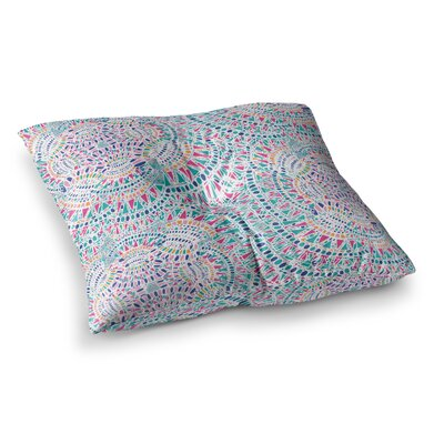 Miranda Mol Kaleidoscopic Abstract Square Floor Pillow Size: 26 x 26