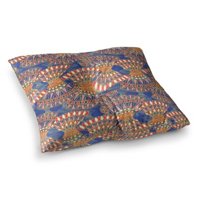 Miranda Mol Energy Abstract Square Floor Pillow Size: 26 x 26