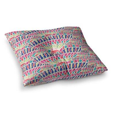 Miranda Mol Abundance Square Floor Pillow Size: 23 x 23