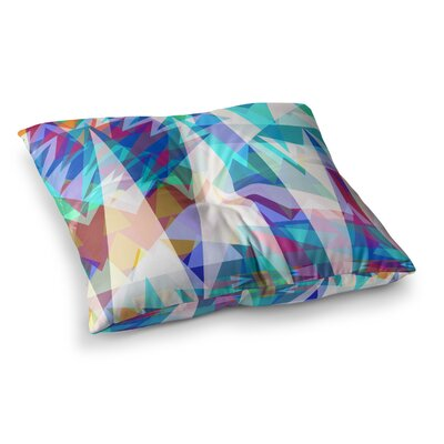 Miranda Mol Triangle Party Square Floor Pillow Size: 26 x 26