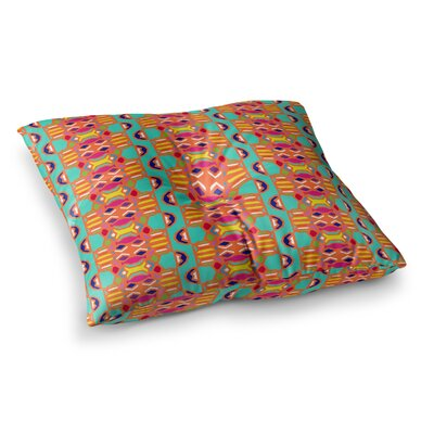 Miranda Mol Summer Fun Treal Square Floor Pillow Size: 23 x 23