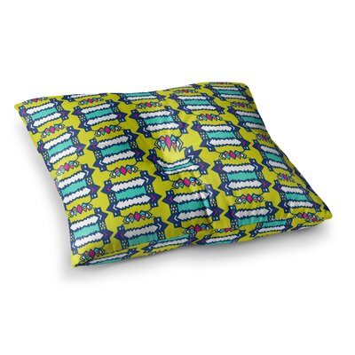 Miranda Mol Party Vibes Square Floor Pillow Size: 23 x 23
