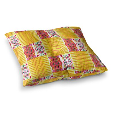 Miranda Mol Cool Summer Square Floor Pillow Size: 23 x 23