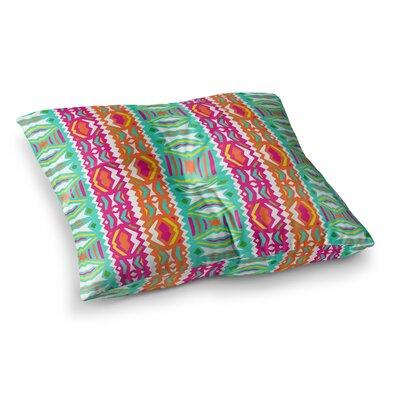 Miranda Mol Ethnic Summer Square Floor Pillow Size: 23 x 23