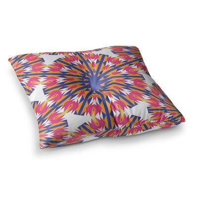 Miranda Mol Modern Dutch Tulips Square Floor Pillow Size: 23 x 23
